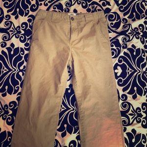 Boys khaki pants size 14